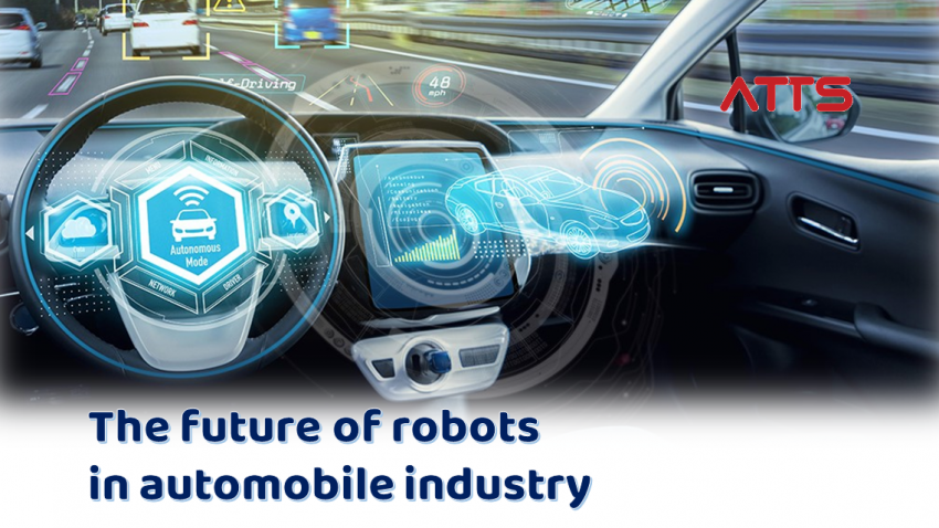 The future of robots in automobile industry