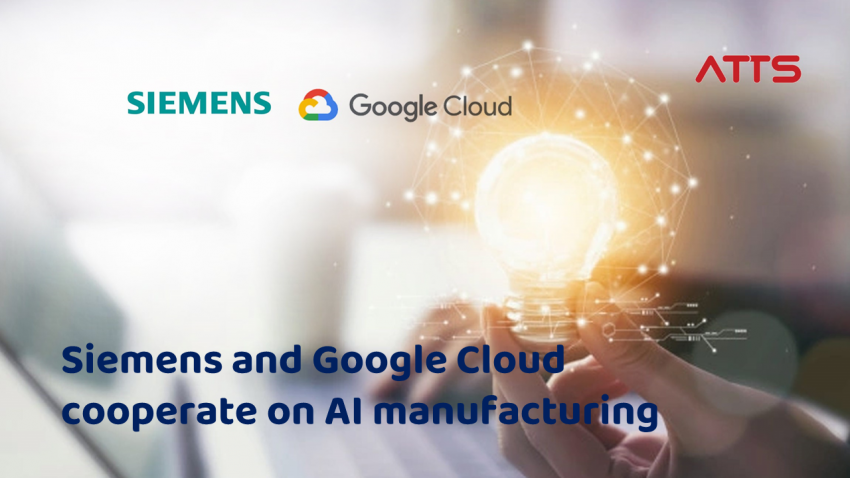 Siemens and Google Cloud to cooperate on AI manufacturing solution