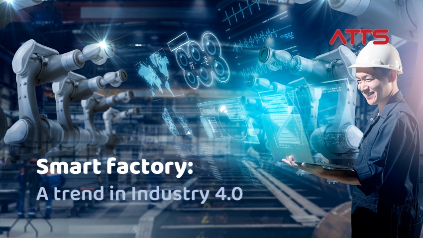 Smart factory is a trend in Industry 4.0