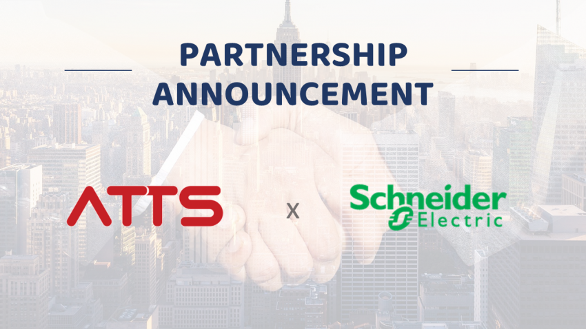 ATTS Vietnam becomes the official partner of Schneider Electric