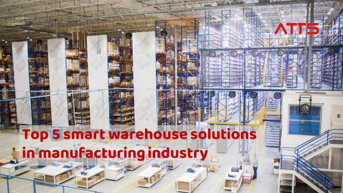 The current optimal warehouse improvement solution is smart warehouse.